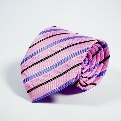 Men's Tie Repp in Pink