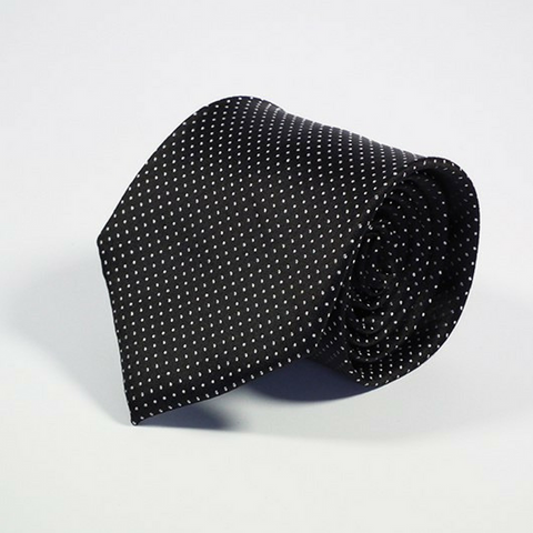 Men's Tie Speckled Black