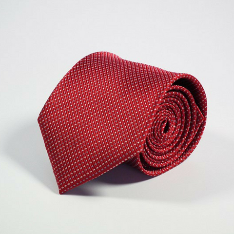 Men's Tie Speckled Red