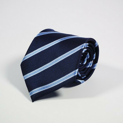 Men's Tie Striped Saphire