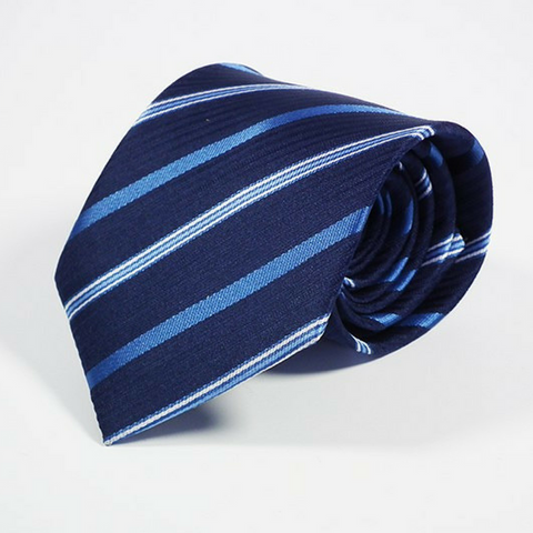 Men's Tie Repp in Navy