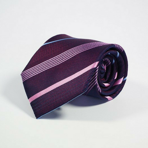 Men's Tie Repp in Purple