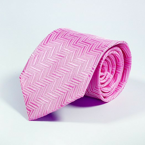 Men's Tie Roseate Chevron
