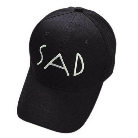 SAD Baseball Hats-Black