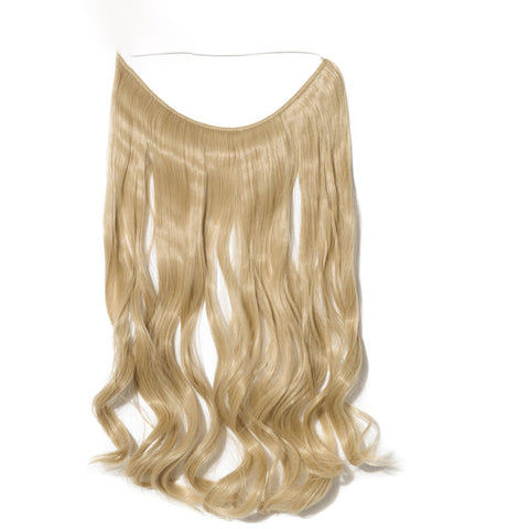 Flip-in Hair Extension - Gold Mix Bleach Blonde