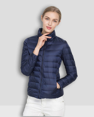 Linder Lightweight Padded Jacket in Blue