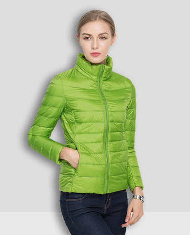 Linder Lightweight Padded Jacket in Green