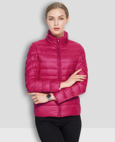 Linder Lightweight Padded Jacket in Pink