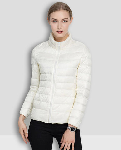 Linder Lightweight Padded Jacket in White