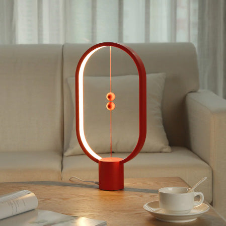LED Hoop Balance Lamp