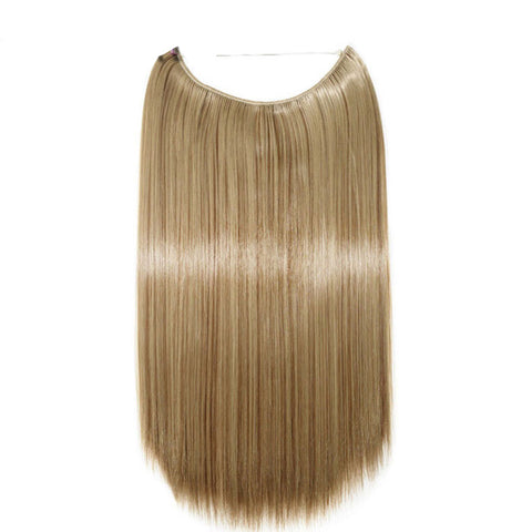 Flip-in Hair Extension - Light Brown Blonde