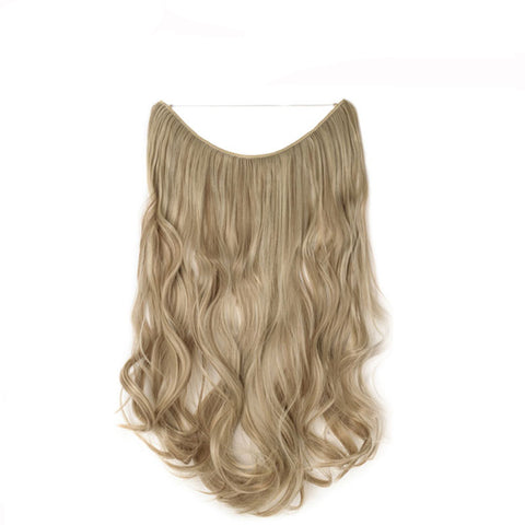 Flip-in Hair Extension - Sandy Blonde Beach Blonde