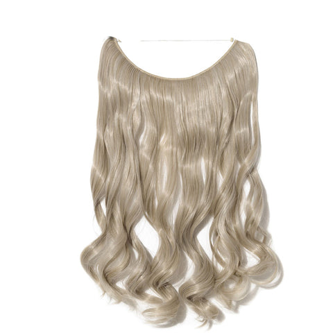 Flip-in Hair Extension - Silver blonde