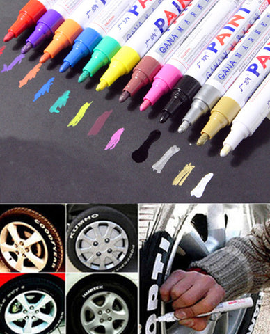 Colorful Waterproof Pen Car