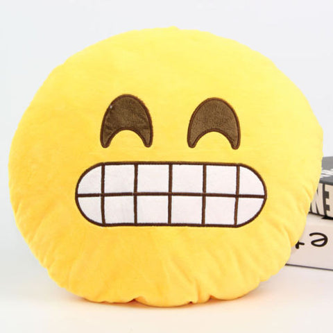 Emoji Pillow - Teeth