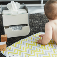 diaper caddy - retro chic
