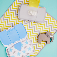 diaper wallet - mellow lellow