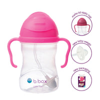 *NEW* sippy cup - pink pomegranate - neon edition