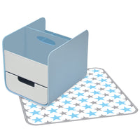 diaper caddy - blue lagoon