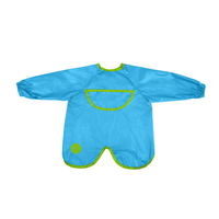 Smock bib - ocean breeze