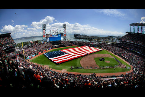 AT&T Park Opening Day