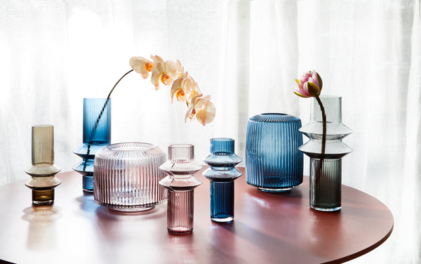Take a look at the latest glass trend with Marmoset Found