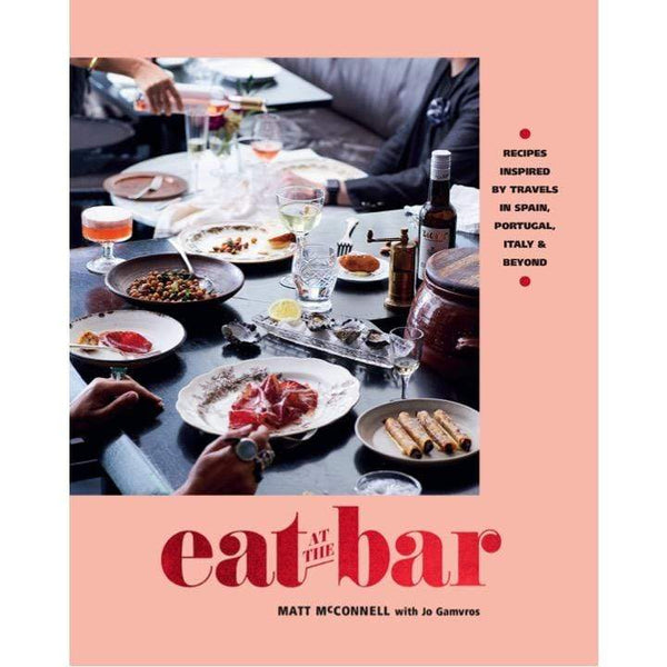 Books Book Eat at the Bar by Jo Gamvros and Matt McConnell