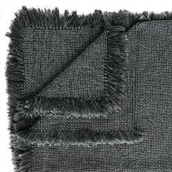 Eadie Throw Chelsea Throw, Slate