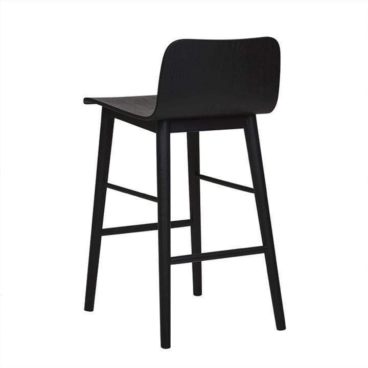 Globewest Bar Stools Sketch Tami Barstool, Black