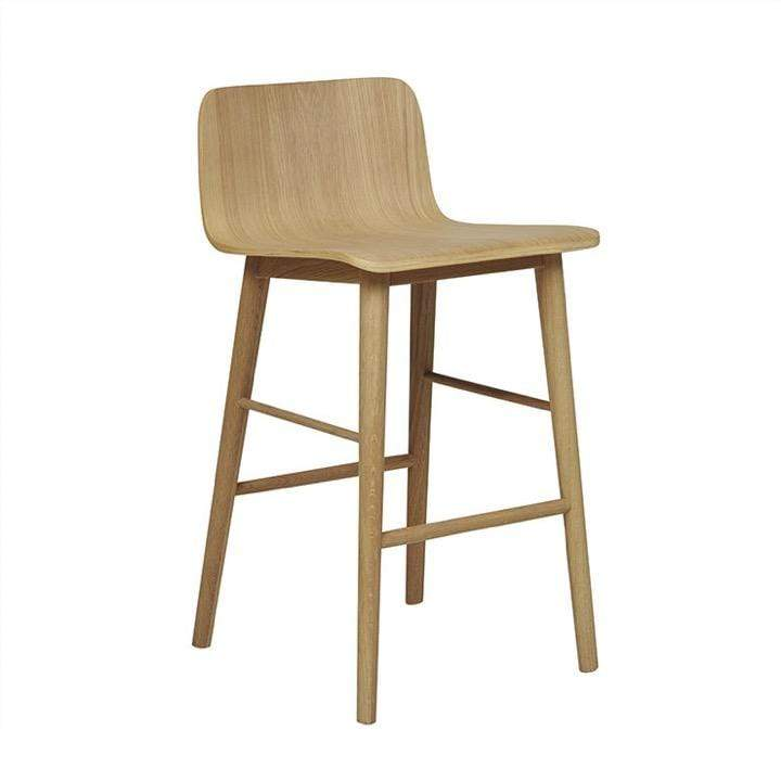 Globewest Bar Stools Sketch Tami Barstool, Light Oak