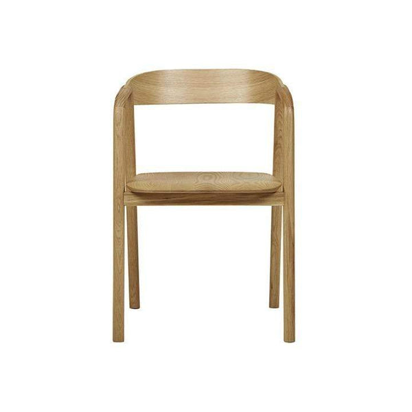 Globewest Chairs + Stools + Ottomans Sketch Inlay Arm Chair, Light Oak
