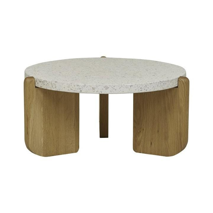 Globewest Coffee Table Sketch Native Coffee Table, Nougat/Oak