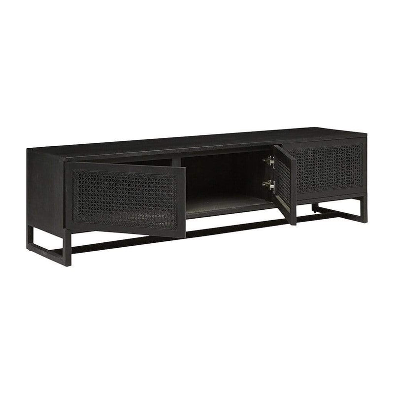 Globewest Furniture Willow Woven Entertainment Unit
