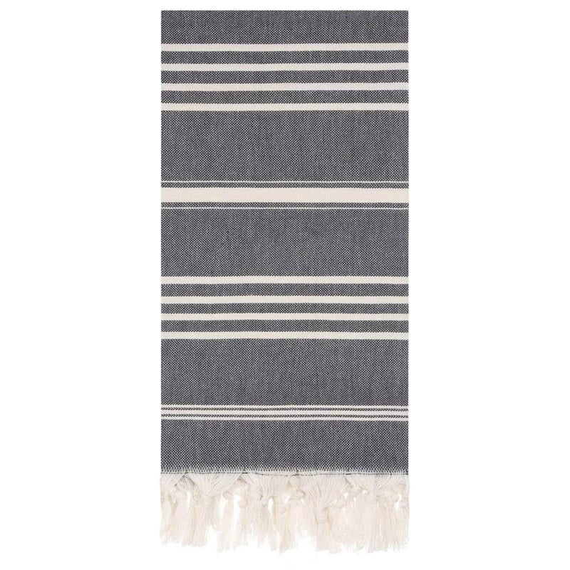 Granite Lane Bath + Body Cleo Towel - Black