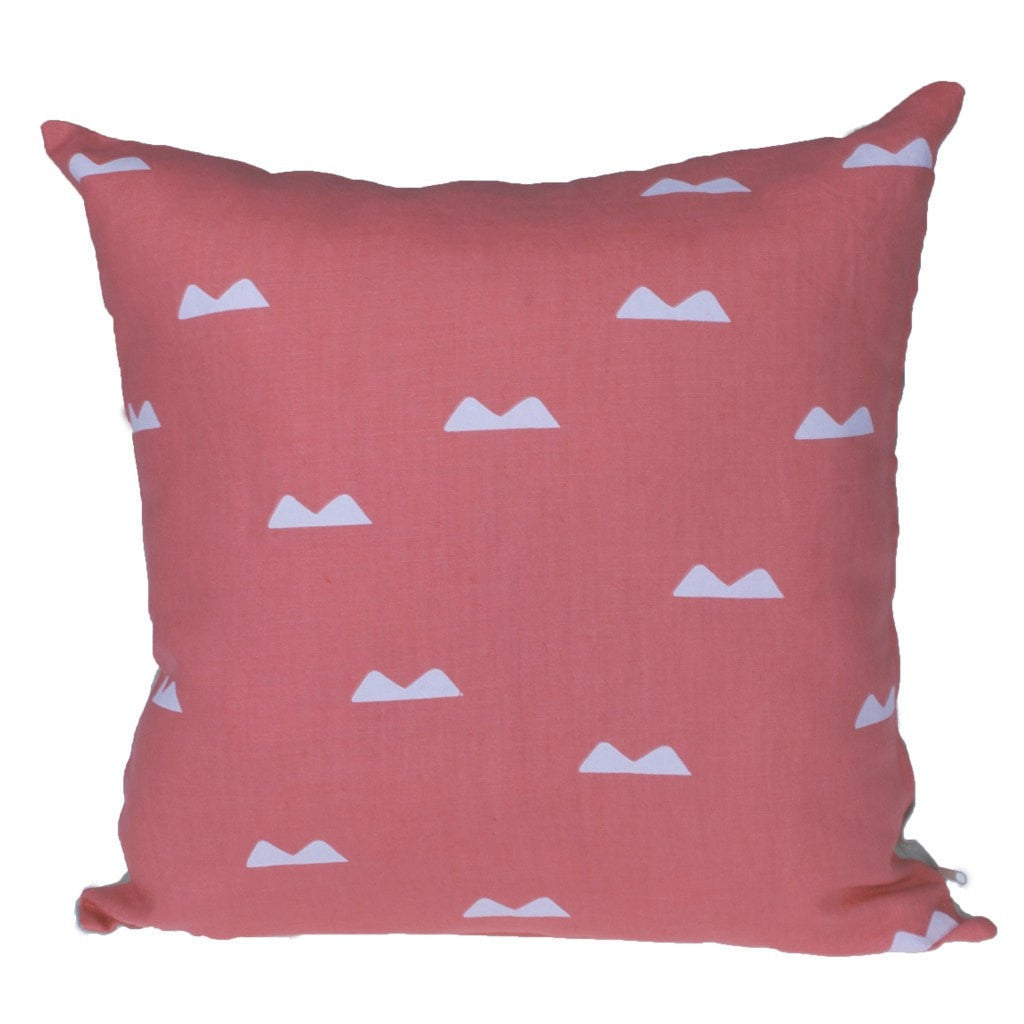 Holly's House Cushions Double Spike Coral