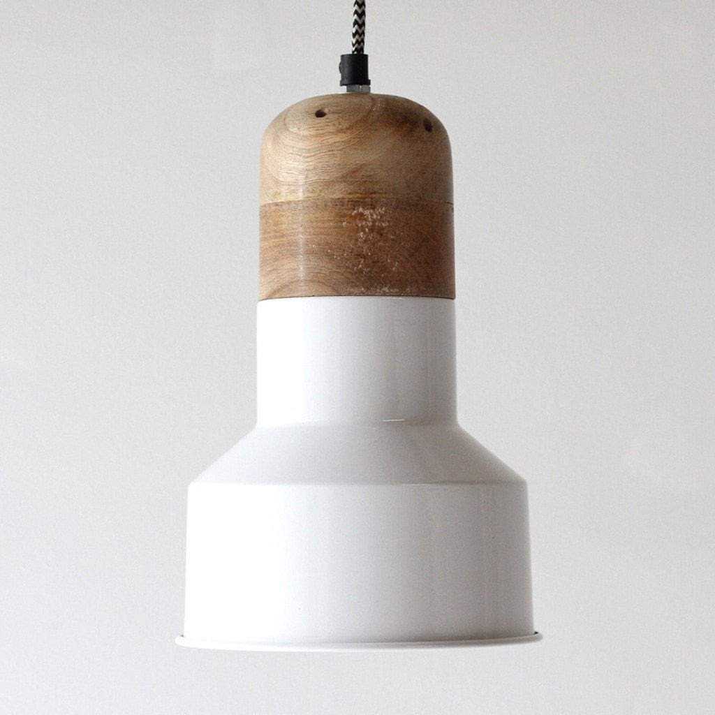 Indigo Love Lighting White Media Pendant
