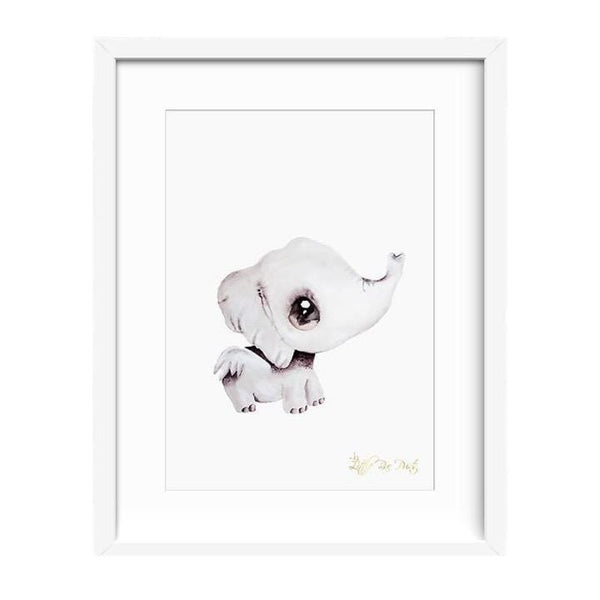 Little Rae Prints LP Artwork Effie the Elephant