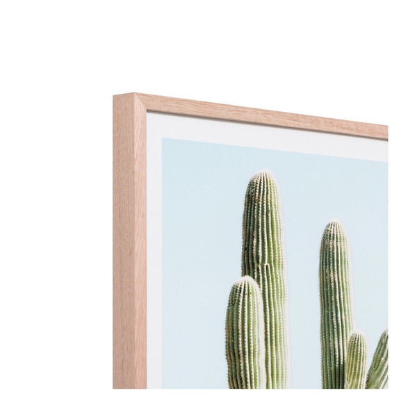 Middle of Nowhere Art Cactus Villa Print