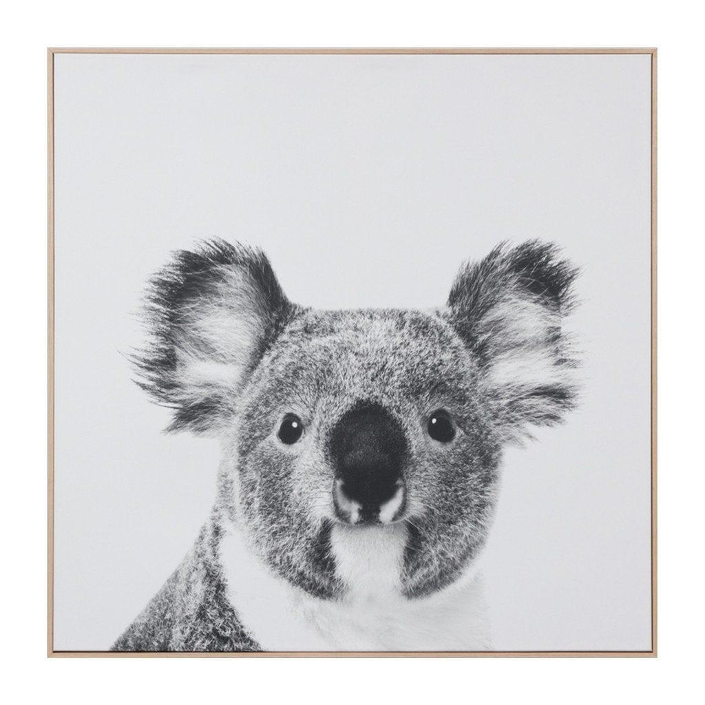 Middle of Nowhere LP Artwork Koala Framed Canvas