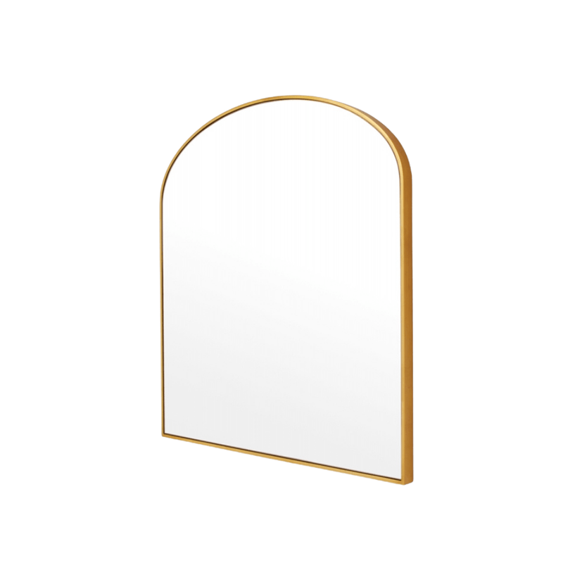 Middle of Nowhere Mirror Bella Arch, Brass