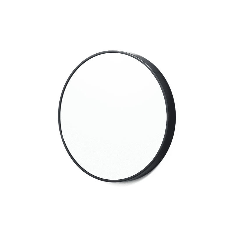 Middle of Nowhere Mirror Bella Round Mirror Black Gloss