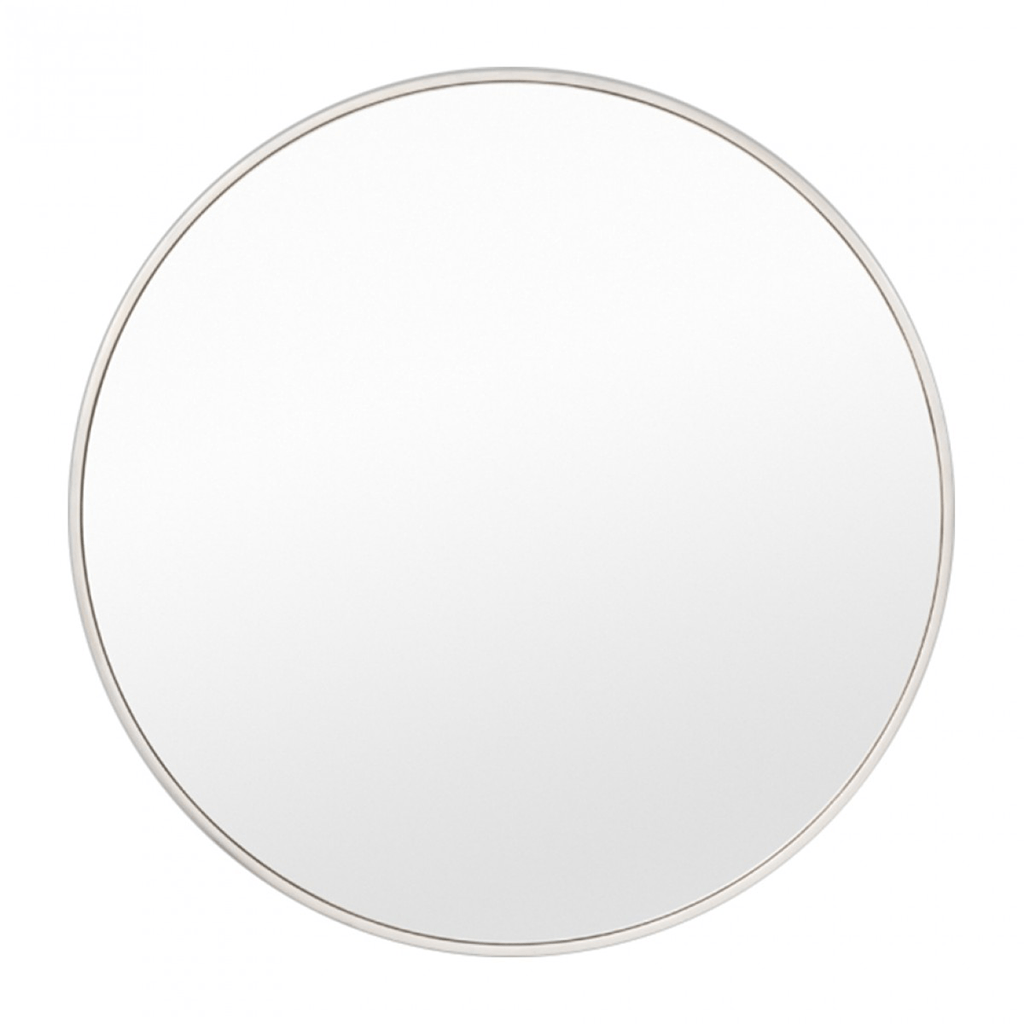 Middle of Nowhere Mirror Bella Round Mirror White