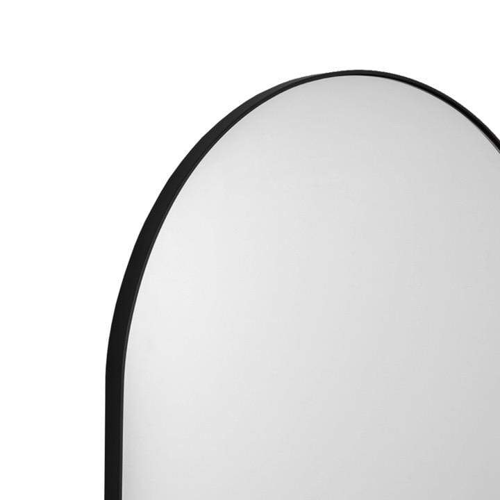 Middle of Nowhere Mirror Bjorn Arch Floor Mirror, Black