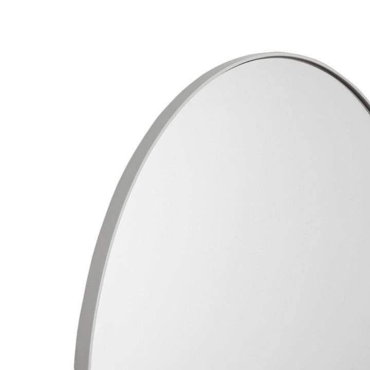 Middle of Nowhere Mirror Bjorn Arch Floor Mirror, Dove