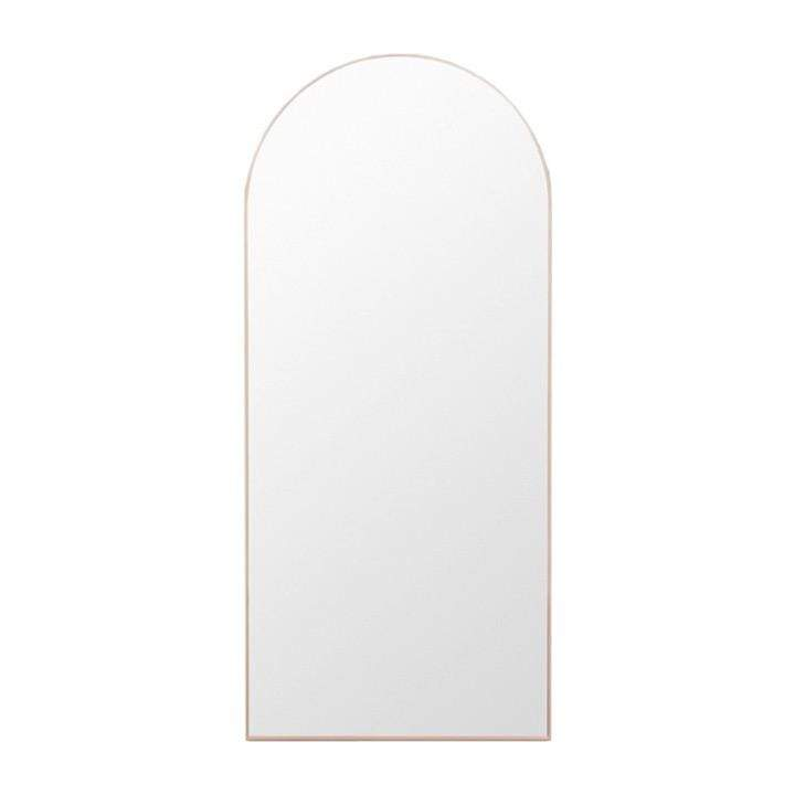 Middle of Nowhere Mirror Bjorn Arch Floor Mirror, Powder