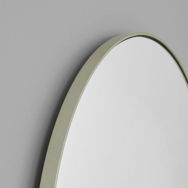 Middle of Nowhere Mirror Bjorn Arch Floor Mirror, Silver