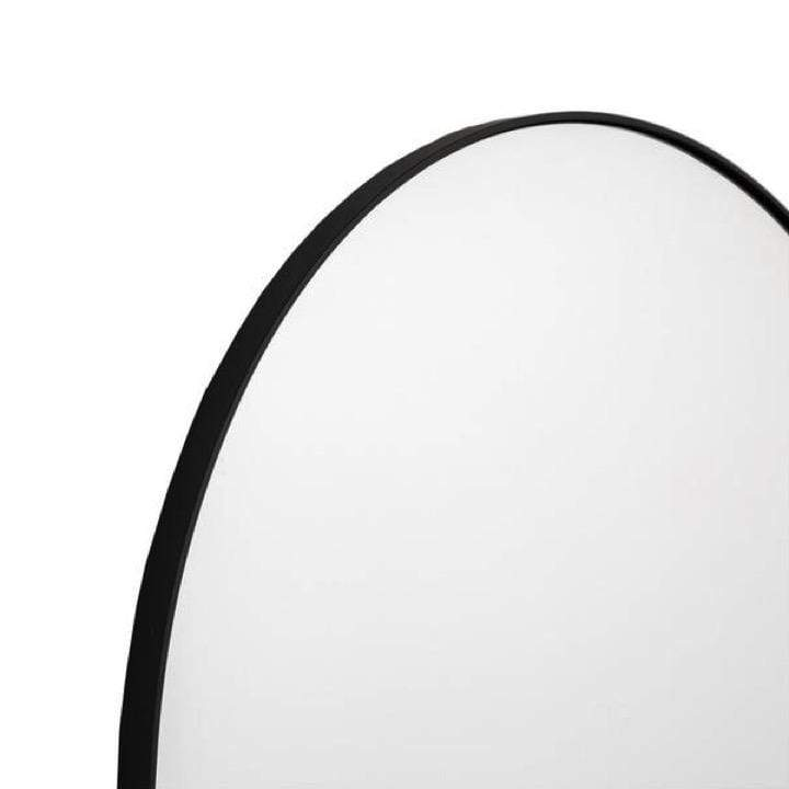 Middle of Nowhere Mirror Bjorn Arch Mirror, Black