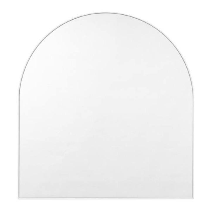 Middle of Nowhere Mirror Bjorn Arch Mirror, White