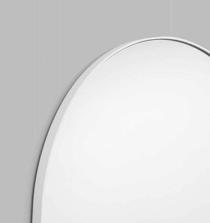 Middle of Nowhere Mirror Bjorn Arch Oversized Mirror, Bright White