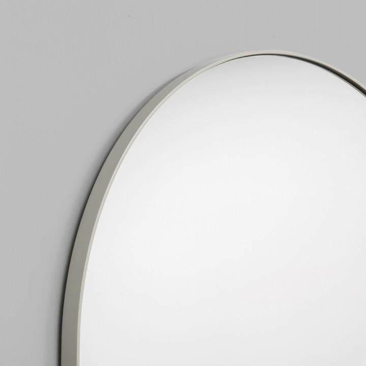 Middle of Nowhere Mirror Bjorn Arch Oversized Mirror, Dove
